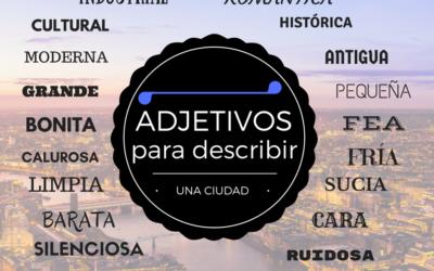 Adjetivos para describir ciudades