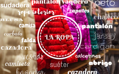 La ropa vocabulario – los colores – los materiales