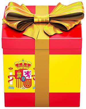 free Spanish trial lesson as a gift